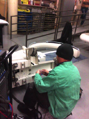 Medical Welding in Bellevue, WA - Mobile MRI Machine