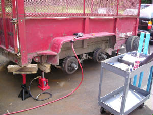 Mobile Trailer Repair